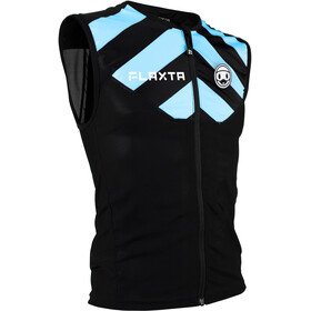 Flaxta Behold Gilet Protection du dos Adolescents, black/flaxta blue